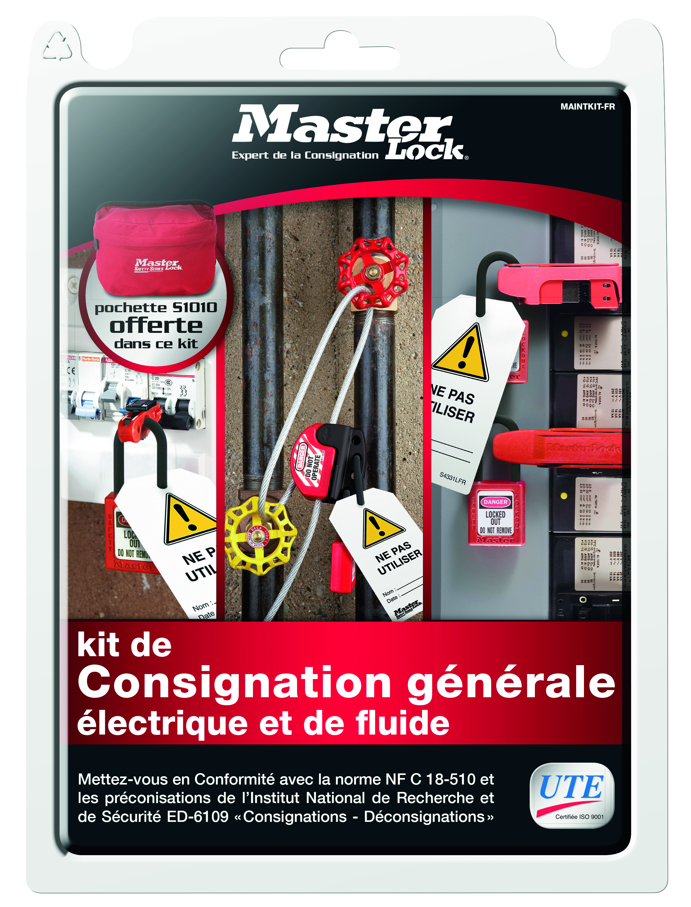 Master Lock Set Maintkit-FR